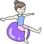 バランスボールダイエットは脚痩せに効果大!